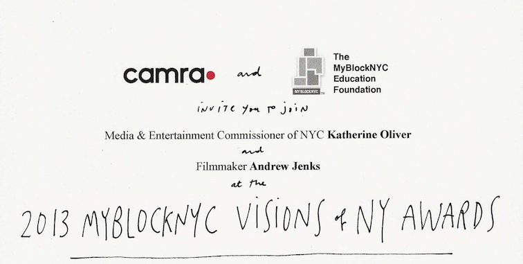 2013 The MyBlock Visions of NY Awards